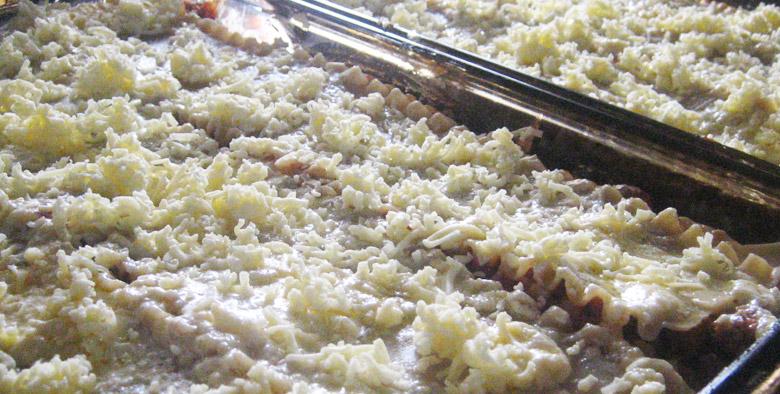 Some Economy Trays serving Italian Cuisine