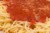 Bucket of Spaghetti Marinara