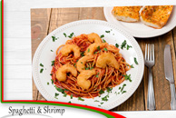 Spaghetti & Shrimp